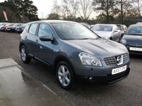 USED 2007 57 NISSAN QASHQAI 2.0 TEKNA 5d 140 BHP Full Leather Interior, Great Spec, Excellent Miles !!