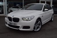USED 2015 64 BMW 5 SERIES 2.0 520D M SPORT GRAN TURISMO 5d AUTO 181 BHP FINANCE TODAY WITH NO DEPOSIT