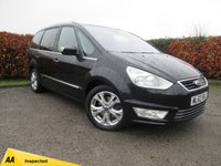 USED 2012 62 FORD GALAXY 2.0 TITANIUM X TDCI 5d * 7 SEATER * FULL LEATHER INTERIOR * SUNROOF *