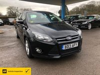USED 2013 13 FORD FOCUS 1.6 ZETEC TDCI 5d 113 BHP NEED FINANCE? WE CAN HELP!