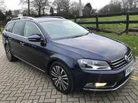 USED 2012 12 VOLKSWAGEN PASSAT 2.0 SPORT TDI BLUEMOTION TECHNOLOGY 5d 139 BHP