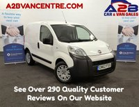 2012 FIAT FIORINO 1.3 Multijet 16V 75 BHP, Low Mileage, One Owner From New, CD Player, Metal Bulkhead, Sliding Door, Just Serviced £3480.00