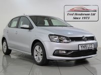 USED 2015 15 VOLKSWAGEN POLO 1.0 SE 5d 74 BHP