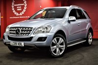 USED 2009 09 MERCEDES-BENZ M CLASS 3.0 ML280 CDI SPORT 5d AUTO 188 BHP