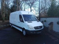 USED 2013 13 MERCEDES-BENZ SPRINTER 2.1 313 CDI LWB  One Owner From New, New Ply Lining Kit