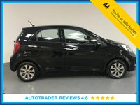 USED 2016 16 KIA PICANTO 1.2 2 5d AUTO 84 BHP SERVICE HISTORY - ONE OWNER - BLUETOOTH CONNECTIVITY - AIR CONDITIONING - AUX / USB - CD PLAYER