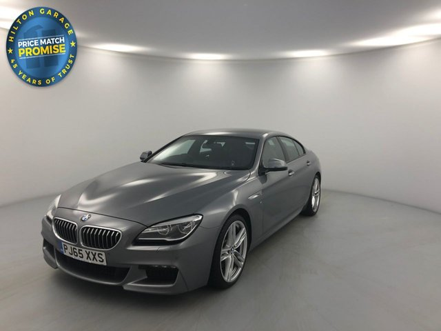 USED 2015 65 BMW 6 SERIES 3.0 640D M SPORT GRAN COUPE 4d AUTO 309 BHP