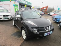 USED 2012 62 NISSAN JUKE 1.6 MINISTRY OF SOUND 5d 117 BHP
