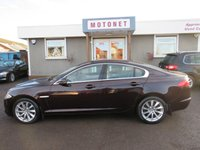 USED 2012 12 JAGUAR XF 2.2 D PREMIUM LUXURY 4DR AUTOMATIC 190 BHP FREE 12 MONTH WARRANTY UPGRADE