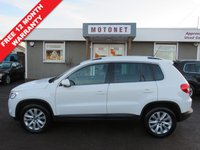 USED 2011 11 VOLKSWAGEN TIGUAN 2.0 MATCH TDI 4MOTION 5DR DIESEL 140 BHP FREE 12 MONTH WARRANTY UPGRADE