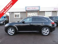 USED 2012 62 INFINITI FX 3.0 FX30D 5DR AUTOMATIC 235 BHP +++FREE 12 MONTH WARRANTY UPGRADE++