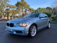 USED 2012 62 BMW 1 SERIES 2.0 116D SE 5d AUTO 114 BHP SE SPECIFICATION, AUTOMATIC GEARBOX, LEATHER INTERIOR, FBSH,