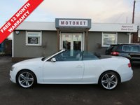 USED 2010 10 AUDI A5 CABRIOLET 3.0 S5 TFSI QUATTRO 2DR AUTOMATIC 329 BHP