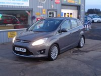 USED 2012 12 FORD C-MAX 2.0 TITANIUM TDCI 5d AUTO 138 BHP FSH  MINT CONDITION