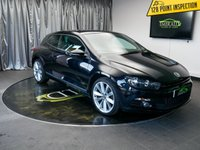 USED 2013 13 VOLKSWAGEN SCIROCCO 2.0 GT TDI BLUEMOTION TECHNOLOGY 2d 140 BHP £0 DEPOSIT FINANCE AVAILABLE, AIR CONDITIONING, AUTOMATIC HEADLIGHTS, BLUEMOTION TECHNOLOGY, BLUETOOTH CONNECTIVITY, CLIMATE CONTROL, CRUISE CONTROL, DAB RADIO, FULL LEATHER UPHOLSTERY, HEATED SEATS, PARKING SENSORS, SATELLITE NAVIGATION, START/STOP SYSTEM, STEERING WHEEL CONTROLS, TRIP COMPUTER