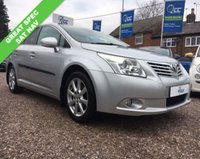 USED 2010 60 TOYOTA AVENSIS 2.0 TR D-4D 5d 125 BHP
