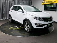 USED 2013 13 KIA SPORTAGE 2.0 KX-4 CRDI 5d AUTO 181 BHP £0 DEPOSIT FINANCE AVAILABLE, AIR CONDITIONING, AUX INPUT, BLUETOOTH CONNECTIVITY, CLIMATE CONTROL, CRUISE CONTROL, DAYTIME RUNNING LIGHTS, FULL LEATHER UPHOLSTERY, HEATED SEATS, PANORAMIC SUNROOF, PRIVACY GLASS, REVERSE CAMERA, SATELLITE NAVIGATION, STEERING WHEEL CONTROLS, TRIP COMPUTER, USB CONNECTION