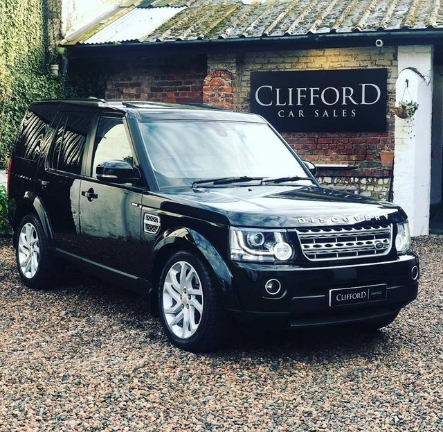 2015 LAND ROVER DISCOVERY 4 Land Rover Discovery 4 HSE Luxury 3.0 SDV6