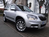 USED 2015 15 SKODA YETI 2.0 OUTDOOR SE TDI CR 5d 109 BHP FINANCE ARRANGED***PART EXCHANGE WELCOME***1 OWNER***BLUETOOTH***CRUISE CONTROL***CD***AUX***AIR CON
