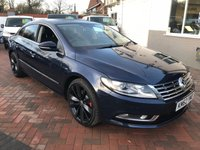 USED 2013 62 VOLKSWAGEN CC 2.0 GT TDI BLUEMOTION TECHNOLOGY DSG 4d AUTO 168 BHP