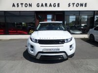 USED 2013 63 LAND ROVER RANGE ROVER EVOQUE 2.2 SD4 DYNAMIC 5d AUTO 190 BHP ** PAN ROOF * CAM ** ** PAN ROOF * IVORY LUNAR LEATHER * HEATED STEERING WHEEL **