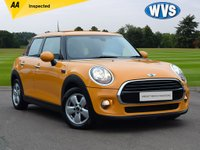 USED 2016 66 MINI HATCH COOPER 1.5 COOPER 5d AUTO 134 BHP Stand out in this orange 2016 Mini Cooper 1.6 136 AUTOMATIC 5dr, 1 keeper from new with service history, 2 keys and an independent AA inspection report.