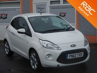 USED 2012 12 FORD KA 1.2 METAL 3d 69 BHP Low Mileage, 16 inch Alloys, Air Con, CD player