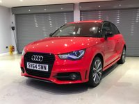 USED 2014 64 AUDI A1 1.2 TFSI S LINE STYLE EDITION 3d 85 BHP LIMITED EDITION + BLACK STYLING PACK