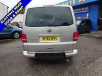 USED 2012 62 VOLKSWAGEN CARAVELLE 2.0 EXECUTIVE TDI 5d AUTO 140 BHP WHEELCHAIR DRIVER TRANSFER VW Caravelle 2.0 Executive - Driver Transfer