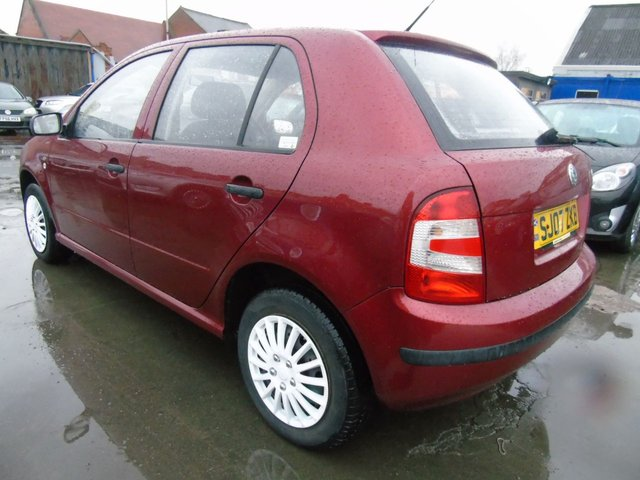 USED 2007 07 SKODA FABIA 1.2 CLASSIC HTP FULL SERVICE DRIVES A1