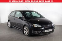 USED 2006 06 FORD FOCUS 2.5 ST-2 3d 225 BHP JUST SERVICED AND NEW MOT