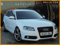 2010 AUDI A3 2.0 SPORTBACK TDI S LINE SPECIAL EDITION 5d 138 BHP £7495.00
