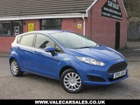 USED 2013 13 FORD FIESTA 1.2 STYLE (FULL SERVICE HISTORY) 5dr FULL SERVICE HISTORY / GREAT COLOUR / £30 ROAD TAX