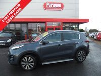 USED 2016 16 KIA SPORTAGE 1.7 CRDI 3 ISG 5d 114 BHP Balance of 7year Kia warranty