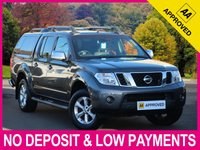 USED 2016 65 NISSAN NAVARA 2.5 DCI TEKNA AUTOMATIC DOUBLE CAB HARDTOP CANOPY 1 OWNER HARDTOP REAR CANOPY CLIMATE HEATED LEATHER