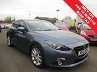 USED 2015 15 MAZDA 3 2.2 D SPORT NAV 5d 148 BHP FULL MAZDA SERVICE HISTORY ( SEE IMAGES )