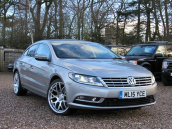 2015 VOLKSWAGEN CC 2.0 GT TDI BLUEMOTION TECHNOLOGY 4d 138 BHP £SOLD