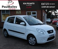 USED 2010 10 KIA PICANTO 1.0 1 5d 61 BHP LOW RATE FINANCE AVAILABLE!
