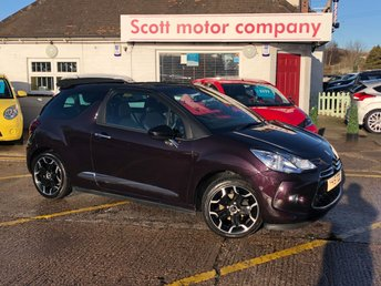 View our CITROEN DS3 CABRIO