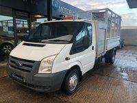 2011 FORD TRANSIT 2.4 350 DRW TIPPER 115 BHP £10495.00