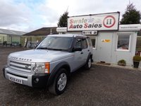 2018 LAND ROVER DISCOVERY 3 TDV6 SE 2.7 DISCOVERY 3 TDV6 SE AUTO 7SEATS DIESEL £6995.00
