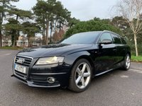 USED 2011 A AUDI A4 2.0 AVANT TDI S LINE SPECIAL EDITION 5d AUTO 141 BHP S-LINE SPECIAL EDITION,NAVIGATION, AUTOMATIC, FSH