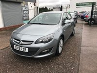 USED 2013 13 VAUXHALL ASTRA 1.7 ENERGY CDTI 5d 108 BHP FULL SERVICE HISTORY(5 STAMPS)-1 FORMER KEEPER-£30 TAX-BLUETOOTH