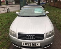 USED 2003 53 AUDI A4 2.4 SE 2d AUTO 168 BHP EXCEPTIONALLY CLEAN CAR ALL ROUND: