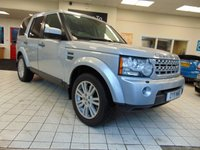 2011 LAND ROVER DISCOVERY 3.0 4 TDV6 HSE 5d AUTO 245 BHP £16995.00