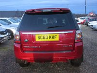 USED 2014 63 LAND ROVER FREELANDER 2.2 TD4 GS 5d 150 BHP DESIGN PACK 4X4
