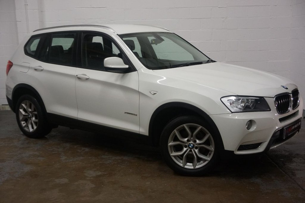 Bmw X3 X Drive 20d Se Auto Full Black Leather Interior