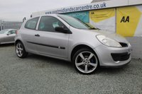 2008 RENAULT CLIO 1.2 EXTREME 16V 3d 75 BHP PETROL SILVER