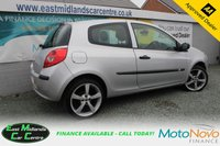 USED 2008 08 RENAULT CLIO 1.2 EXTREME 16V 3d 75 BHP PETROL SILVER SERVICE HISTORY