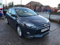 "USED 2013 63 FORD FOCUS 2.0 ZETEC S TDCI 5d 161 BHP  FULL MAIN DEALER SERVICE HISTORY-17"" ALLOYS-BLUETOOTH-DAB RADIO"